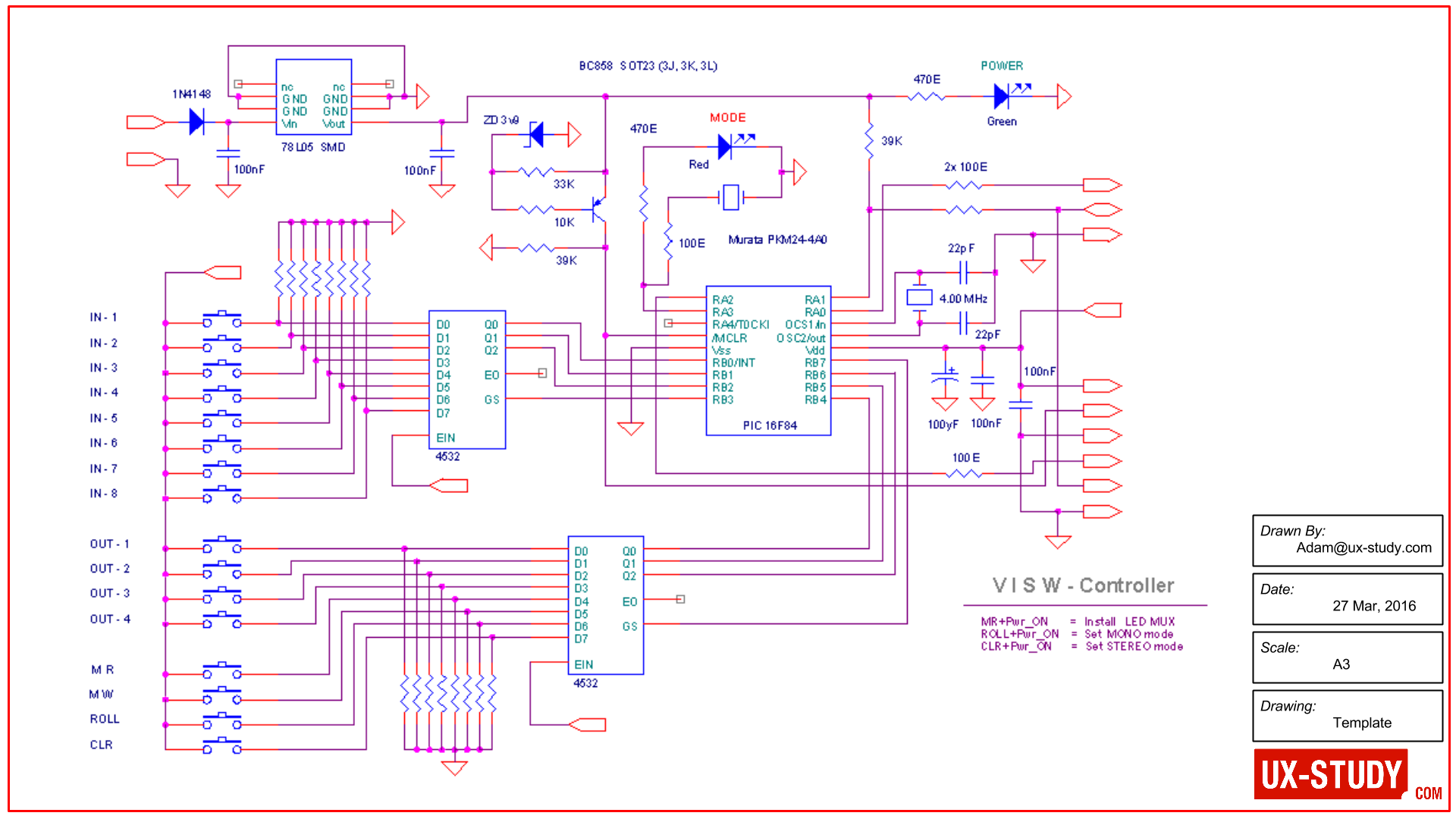 ux-study - AV schematic